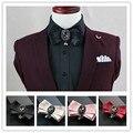 Casamento de cristal Bow Tie Homens Mulheres Bowknot Partido Noivo Gravata Preto Roxo Azul Jujuba Vermelho