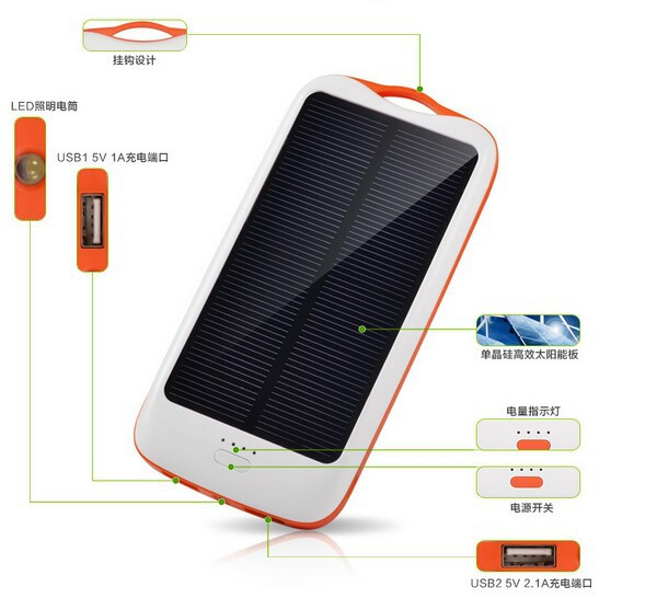 solar power bank 11000 mah 3