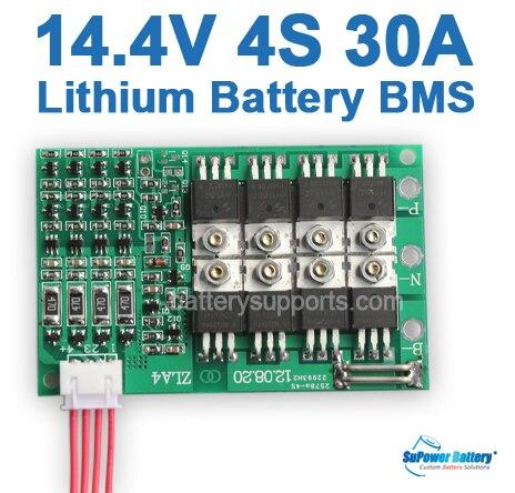 Supower 4s 14 4v 14 8v 16 8v 30a Li Ion Lithium Lipo