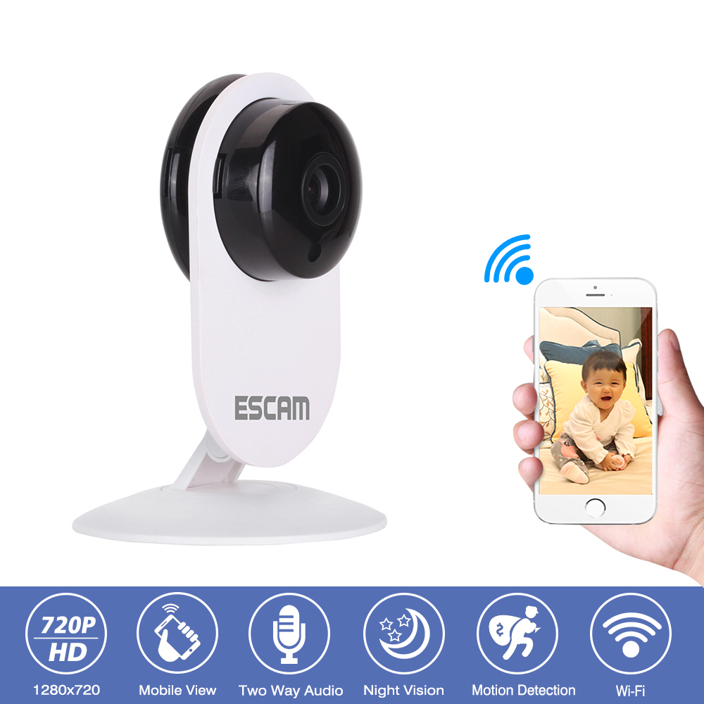 Home Security Camera HD 720P IP Camera Wireless CCTV Surveillance Camera Baby Monitor 2 way Audio