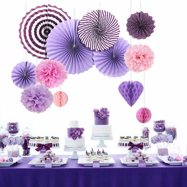 Valentine S Day Party Decorations Home Supplies Purple Theme