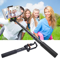 Yunteng 808 wired mini selfie extensible monopie palo giratorio polo autodisparador para iphone samsung smartphone vs 188 088 1288