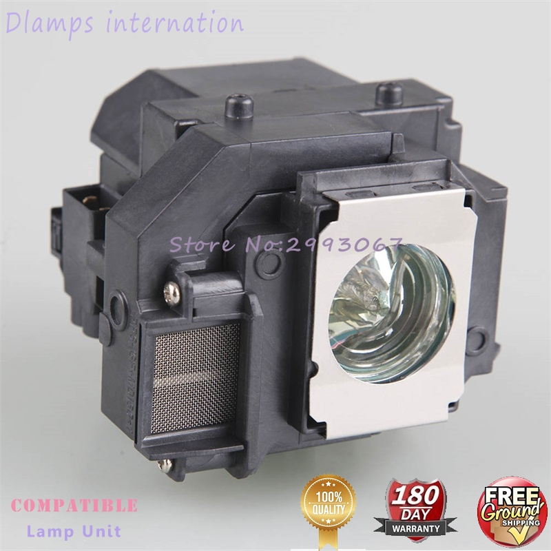 Replacement Lamps ELP56 / V13H010L56 For EPSON EH-DM3 / MovieMate 60 / MovieMate 62 Projector Lamp With 180 Days Warranty