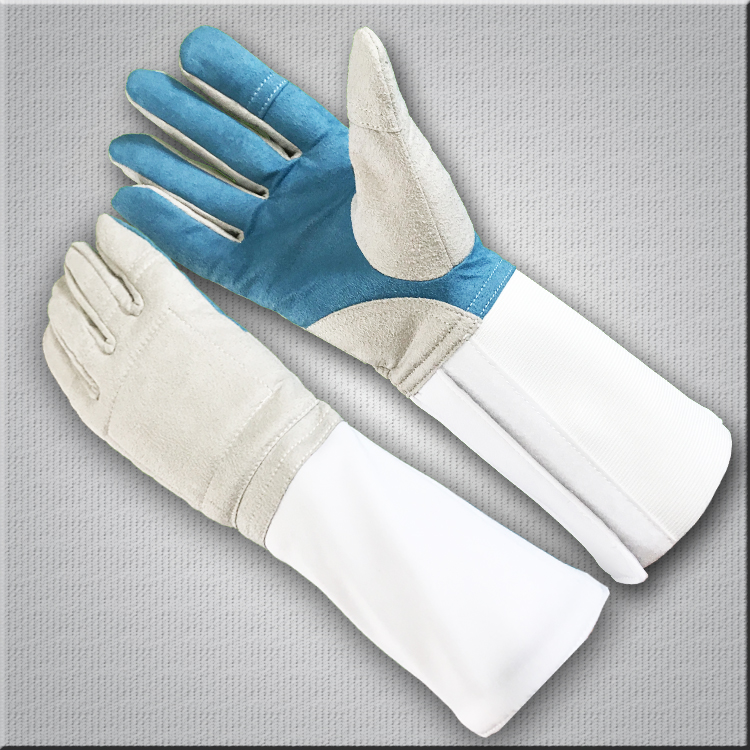 Fencing gloves 2pcs lot 1pcs right and 1pcs left hand best quality fencing products