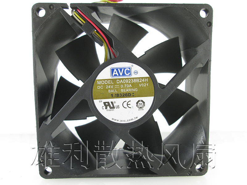 Free Delivery.9238 Fan DA09238B24H Chassis / Enclosure / Instrument / Inverter Server Cooling