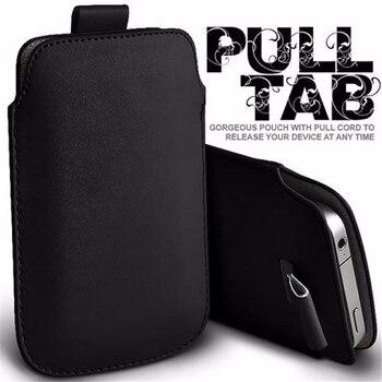Dla Blackberry Priv Case 5.4 ''etui kieszonkowe ze sznurkiem pokrowiec pokrowiec skórzany Pull Tab torby dla Blackberry Priv etui torby telefon