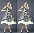 Short black  Lace Cocktail Dresses with White Applique Cheap Prom Party Dress