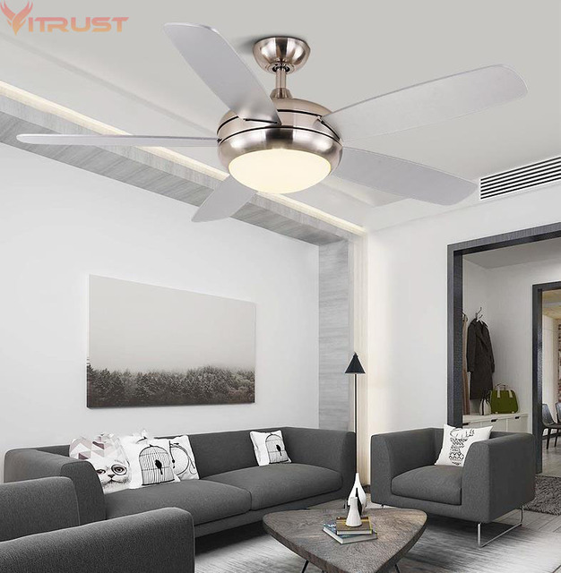 Modern LED Ceiling fan Lights Remote Controller Ventilateur Plafond  Lumiere Wood Leaf Dining Living room Bedroom Nordic Lamps