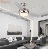 Moderno led ventilador de teto luzes controle remoto ventilateur plafond lumiere folha madeira sala jantar quarto nordic lâmpadas