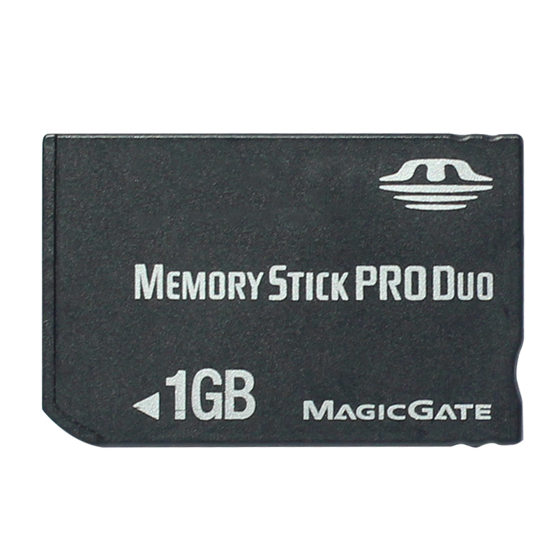 Original 1GB Memory Stick Pro Duo Memory Cards With Memory Stick Pro Duo Adapter For PSP Camera