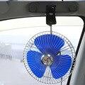 Baixo Nível de Ruído 12 V Oscilante Ventilador Do Carro 8 Polegada 12 V Portátil Veículo Ventilador Oscilante Auto Carro Ventilador Auto Carro Com Carregador de Carro