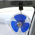 Low Noise 12V Oscillating Car Fan 8 Inch 12V Portable Vehicle Auto Car Fan Oscillating Car Auto Cooling Fan With Car Charger