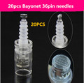 20pcs 36 Pin Needle Cartridge for Electric Auto Microneedle Derma Pen  Nano  MYM Needle Tip