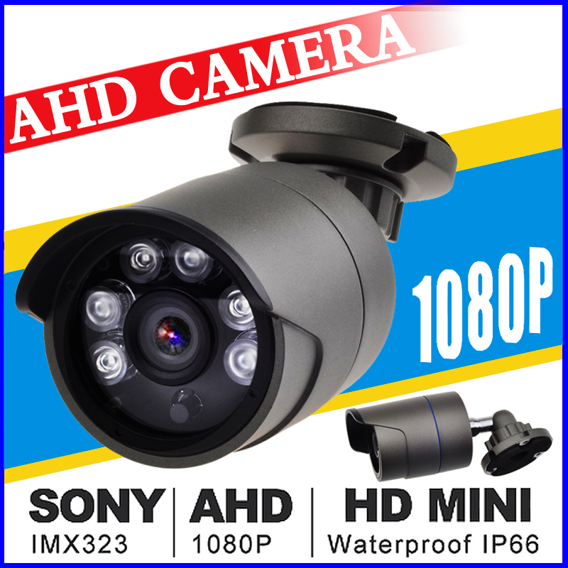 Outdoor CCTV AHD camera 2.0MP 720/960/1080P HD Security Camera with IR-CUT 24 IR LEDs Night Vision for Surveillance home Camera