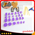 24pc/set PDR hand tools set Professional Car vehicle Dent repair Tools Paintless Dent Removal+with Glue gun 100W +5x glue sticks