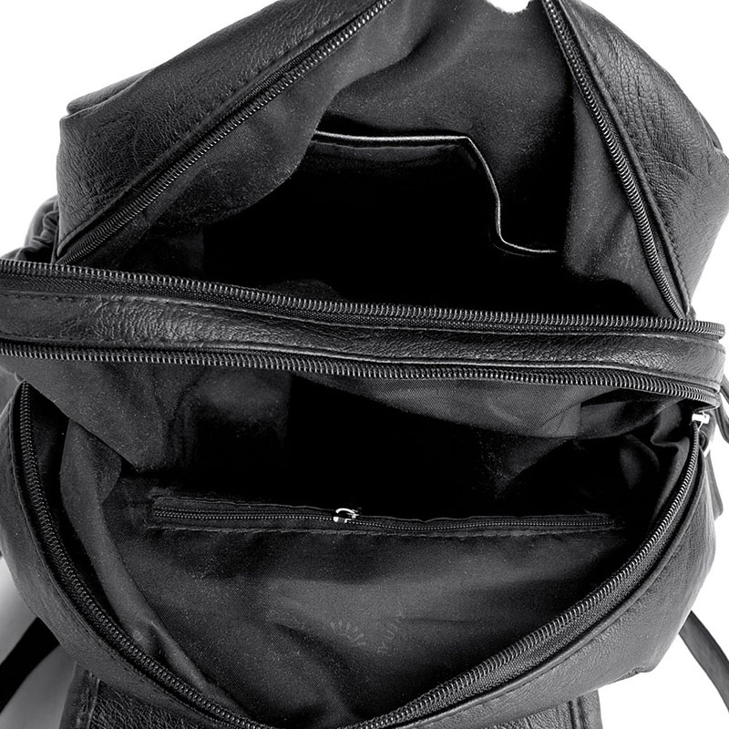 2018 Women Backpack high quality Leather Fashion school Backpacks Female Feminine Casual Large Capacity Vintage Shoulder 2018 Women Backpack high quality Leather  Fashion school Backpacks Female Feminine Casual Large Capacity Vintage Shoulder Bags