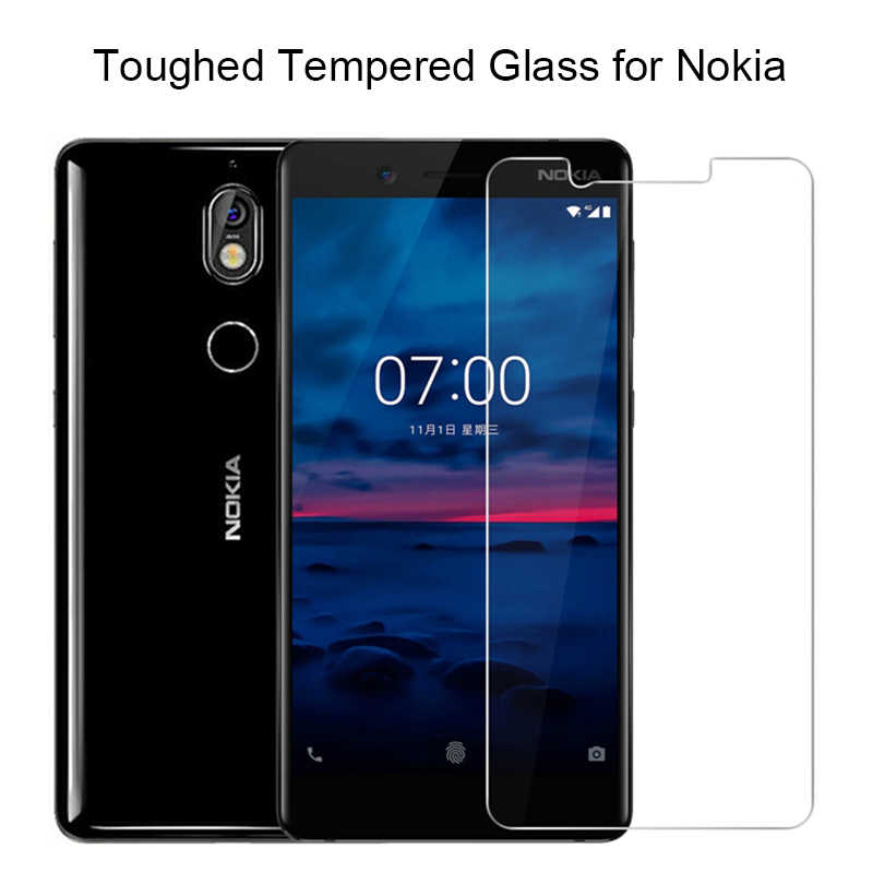 2 adet 9H sert cam koruyucu cam ekran koruyucu Film Nokia 7.2 6.2 için 7 6 5 temperli cam nokia 5.1 için artı 6.1 7.1