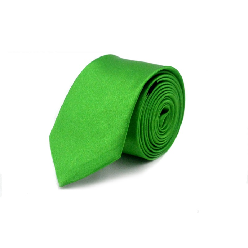 Slim Ties For Men Gravata 5cm Party Fashion Neck Tie Cravat Gift Polyester 40 Colors Green Red White Ivory Black Blue