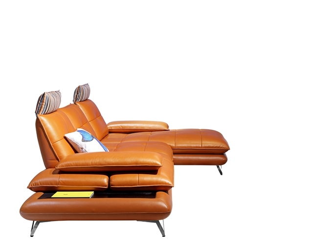 Deluxe Leather Recliner Sofa 2