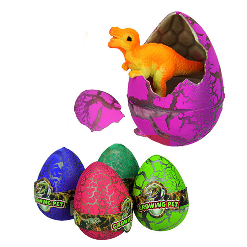 12pcs 5x7CM Growing Dinosaur Eggs Hatching Inflation Hatchimals Magic Water Hatchable Eggs Novelty Gag Surprise Toys Easter Toy creative dinosaur egg interactive cute fantastic hatching egg with plush animal novelty gag toys growing dinosaur eggs