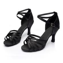 WUUQAO Brand New Women's Dance Shoes Heeled Tango Ballroom Latin Salsa Dancing Shoes For Women Hot Sales