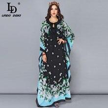 LD リンダデラ春マキシドレス vestido 5XL