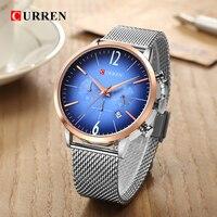 CURREN Luxury Brand Men Sport Watches Men's Digital Quartz Clock Stainless Steel Waterproof Wrist Watch relogio masculino 8313 4
