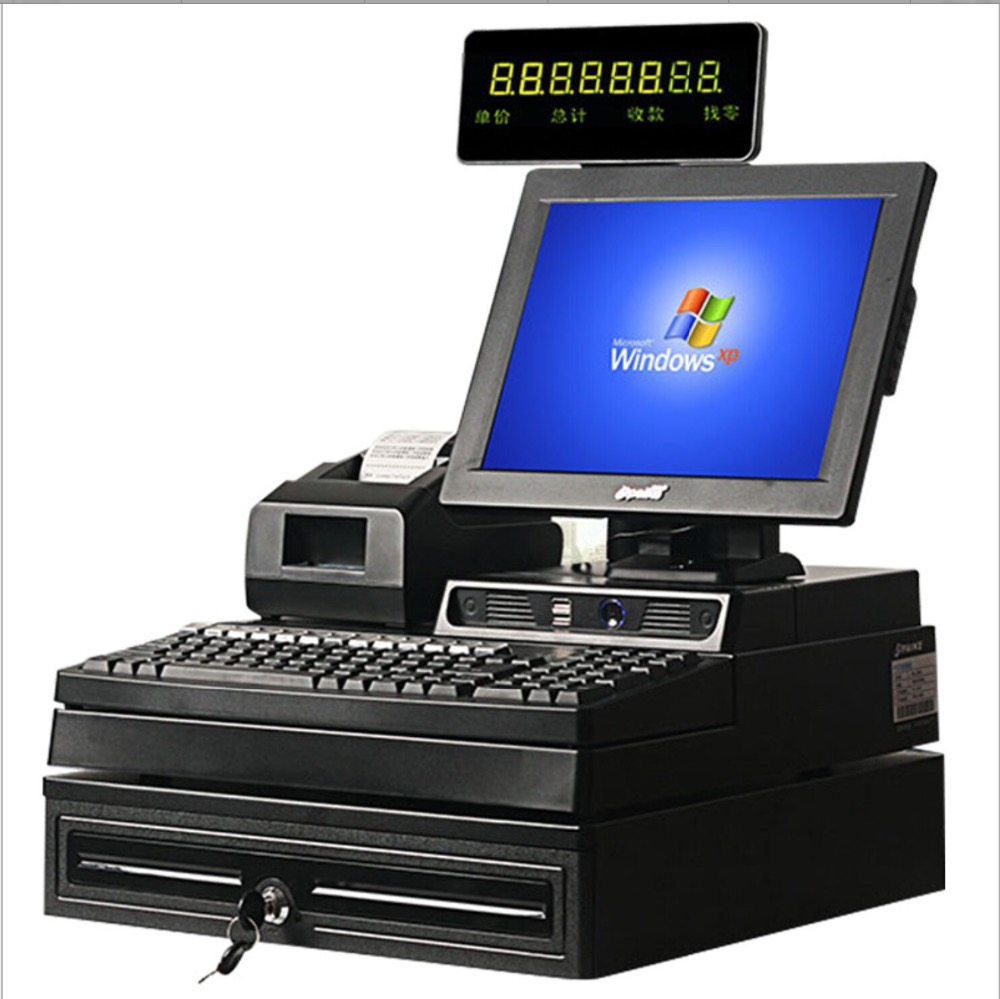 """12"""" dual screen Touch Screen Android Tablet PC Termina POS system Cash with 2G Ram,32G SSD"""