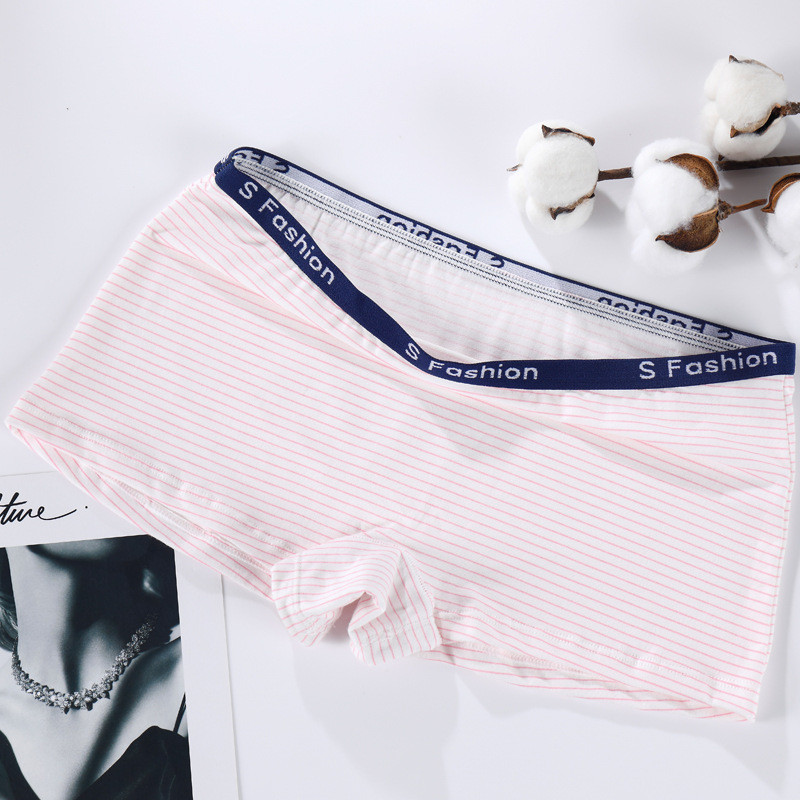 4 color Womens Breathable Safety Short Pants Hot Sale Cotton Seamless Mid-Rise Cotton crotch  Girls' summer Necessary shorts