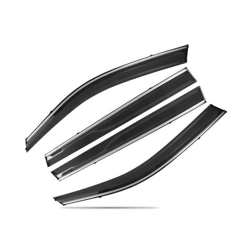 Tonlinker couverture autocollants pour Geely Atlas 2016-18 voiture style 4 pièces ABS plastique la porte fenêtres auvents abris couvre autocollant - 2