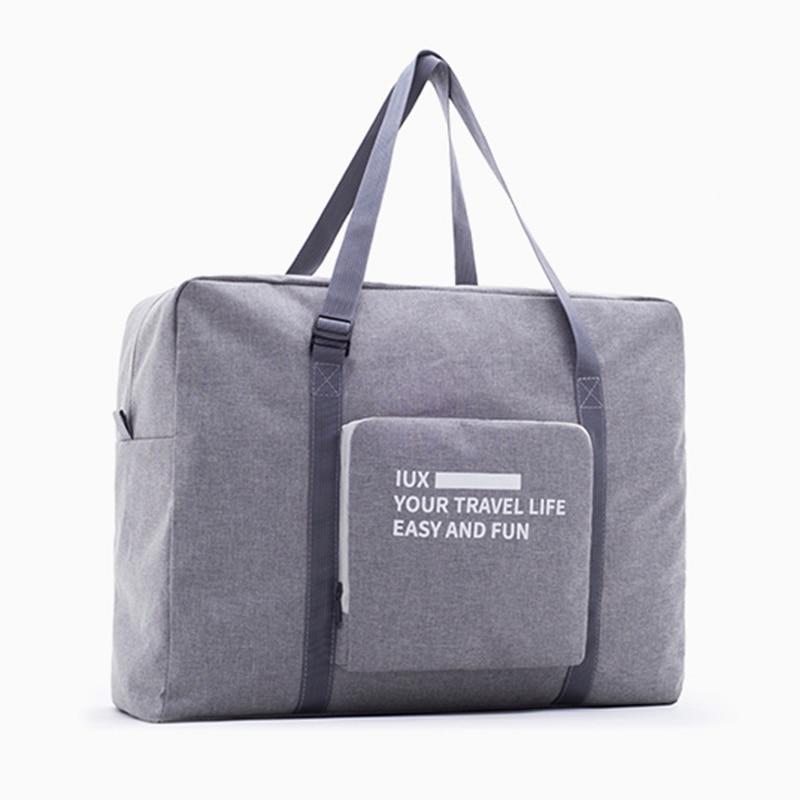Fashion Nylon WaterProof MenTravel Bag High Quality Women Bags Folding Zipper Travel Bags Hand Luggage Packing Cubes Organizer