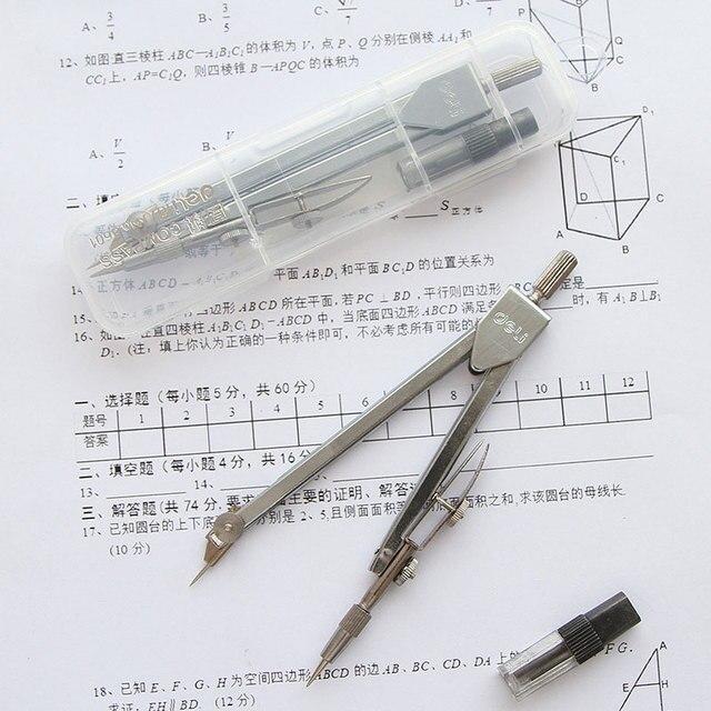 Sekolah Mahasiswa Drafting Kompas Math Set Alat Gambar Alat Tulis