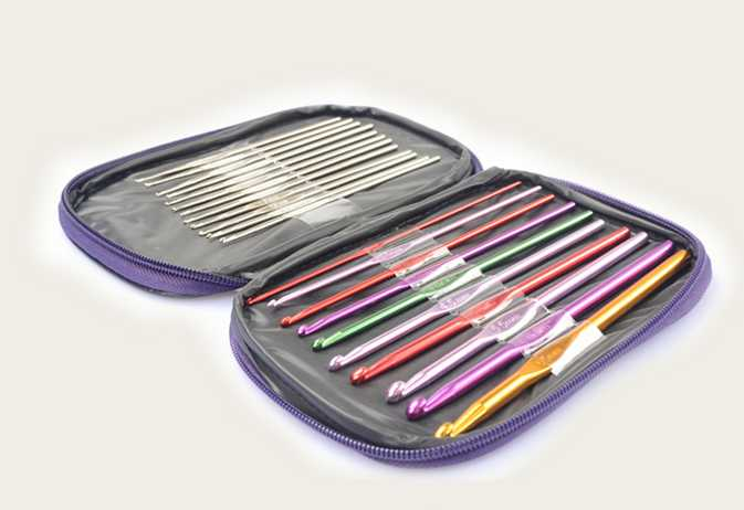 Diy 22 Pcs Crochet Hook Knitting Needle Set,weaving Tools Set Cheapest Price From Our Site Hand Tools