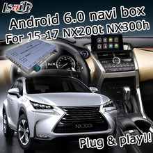 Android 6 0 GPS navigation box for Lexus NX200t NX300h 2015 2017 etc knob touchpad control