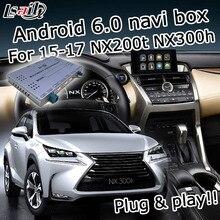 Android gps-навигатор для Lexus NX200t NX300h 2015-2019 и т. д. ручка и сенсорная панель управления видео интерфейс с Carplay по lsailt