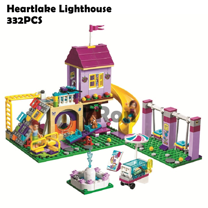 Building Blocks 10774 332pcs Compatible with Lego Friends Heartlake Lighthouse 41325 Model Toys for Children 01050 731pcs friends heartlake city princess emma s house 10541 model building blocks assemble bricks toys luis compatible with lego