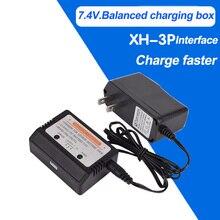 7.4 В 800ma XH-3P литиевых батарей баланс зарядное устройство коробки американским нормам пульт дистанционного управления скоростной автомобили четыре оси игрушки Fly