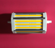 High power 25w 118mm led R7S light  high lumen COB with cooling Fan AC85-265V
