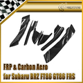 Car-styling For Toyota BRZ FT86 GT86 FRS RB-Style Ver 2 Dai Carbon Fiber Canard (6Pcs)(Just Fit For VR2 Body Kit)