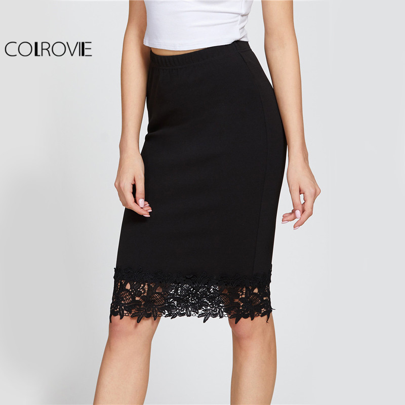 Compare Prices on Women Black Working Skirts- Online Shopping/Buy ...
