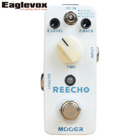 Mooer Reecho Delay Electric Guitar Pedal Effect True Bypass Effects