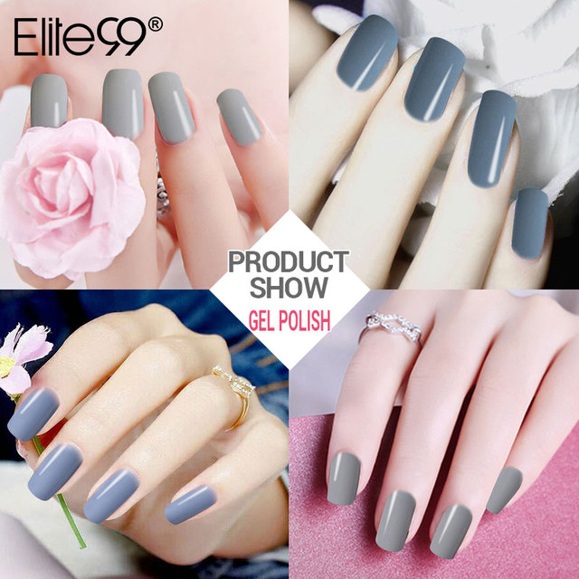 Elite99 Nail art Design Maniküre 10 ml Tränken Weg Von Emaille Gel Polnischen Any1LED UV Gel Nagellack Lack Gel Polnisch nagel Gel