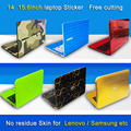 Pure color abc lados adesivo laptop dustproof skins para lenovo ideapad 700s-14isk/ideapad y700-14isk/ideapad 700-15isk/s21e-20