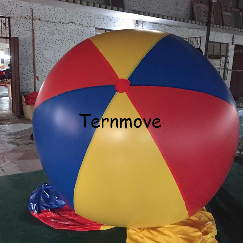 swimming pool balls cheap big inflatable balloon Colorful giant Volleyball Team Toys Family Garden Plaything Party