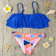 Removable Straps Padded Bikini Set