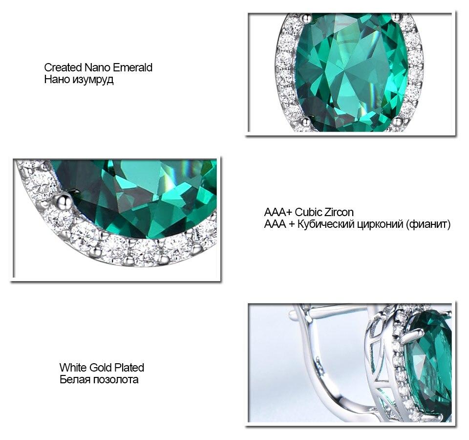 Honyy-Emerald-925-sterling-silver-clip-earring-for-women-EUJ084E-1-PC_07