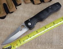 Уникальный Дизайн MCUSTA Складной Нож Карманный Нож Два Варианта Тактический Нож Выживания Дерево/Micarta Ручка