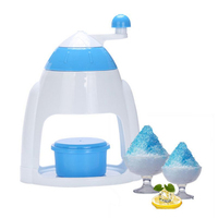 2016 Summer Ice Candy Crusher Shaver Snow Cone Maker Manual Machine Home