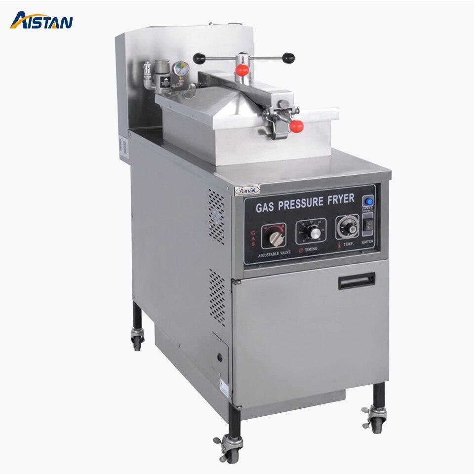 MDXZ25 газа свободностоящая Давление Фрайер машина вертикальные глубокий масло для жарки для коммерческого использования