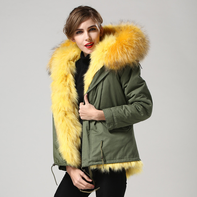 Aliexpress.com : Buy Female oversized fur collar wadded jacket